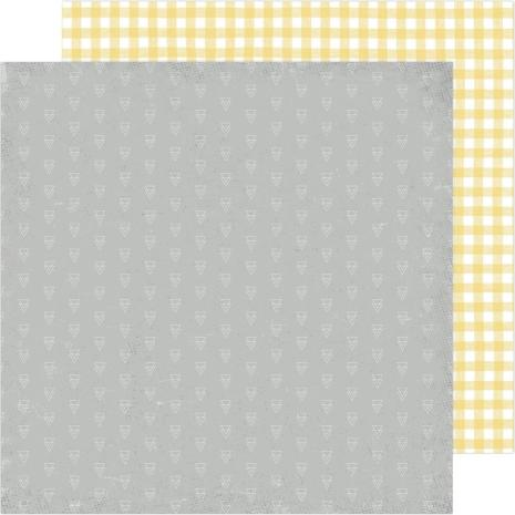 Heidi Swapp Storyline Chapters Cardstock 12X12 - Mellow Yellow