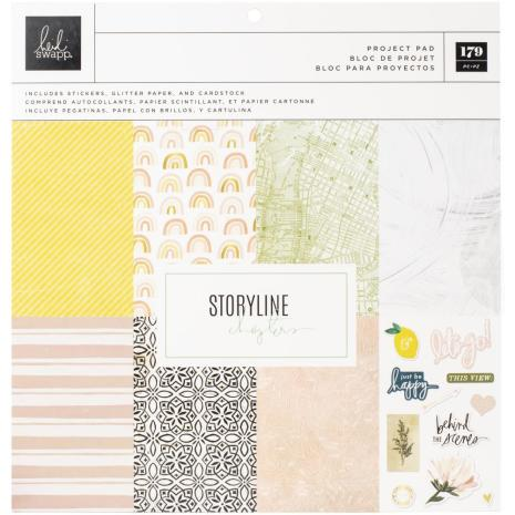 Heidi Swapp Storyline Chapters Project Pad 12X12 - Storyline Chapters