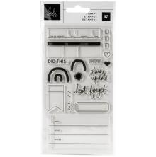Heidi Swapp Clear Stamps 17/Pkg - Storyline Chapters