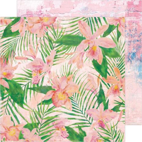 Heidi Swapp Art Walk Cardstock 12X12 - Full Bloom