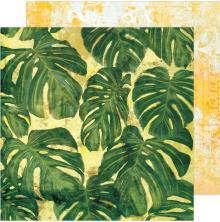 Heidi Swapp Art Walk Cardstock 12X12 - Tropics