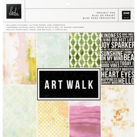 Heidi Swapp Project Pad 12X12 - Art Walk