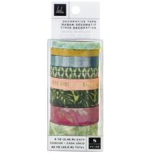 Heidi Swapp Washi Tape Rolls 8/Pkg - Art Walk
