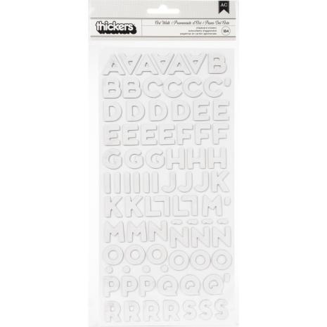 Heidi Swapp Thickers Stickers 5.5X11 184/Pkg - Art Walk Alpha