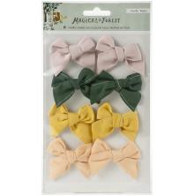 Crate Paper Fabric Bows 8/Pkg - Magical Forest