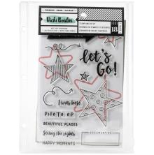 Vicki Boutin Mixed Media Stamps & Dies - Lets Go