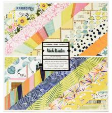 Vicki Boutin Double-Sided Paper Pad 12X12 24/Pkg - Lets Wander