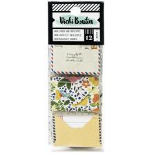 Vicki Boutin Mini Envelopes W/Cards - Lets Wander