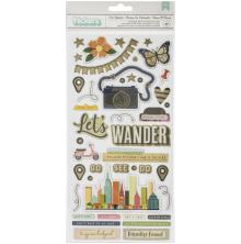 Vicki Boutin Lets Wander Thickers 5.5X11 87/Pkg - Phrases