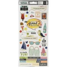 Vicki Boutin Cardstock Stickers 94/Pkg - Lets Wander