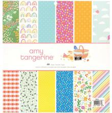 Amy Tangerine Single-Sided Paper Pad 12X12 48/Pkg - Picnic In The Park