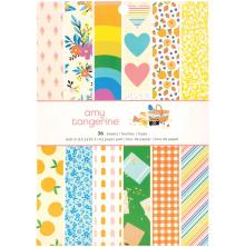 Amy Tangerine Single-Sided Paper Pad 6X8 36/Pkg - Picnic In The Park