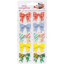 Amy Tangerine Paper Bows Stickers 10/Pkg - Picnic In The Park