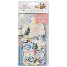 Amy Tangerine Ephemera Cardstock Die-Cuts 40/Pkg - Picnic In The Park