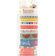 Amy Tangerine Washi Tape 8/Pkg - Picnic In The Park