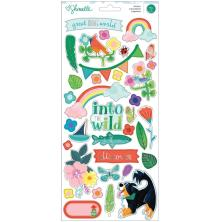 Shimelle Cardstock Stickers 79/Pkg - Never Grow Up