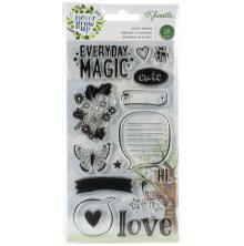 Shimelle Acrylic Stamps 16/Pkg - Never Grow Up