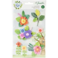 Shimelle Layered Stickers 7/Pkg - Never Grow Up