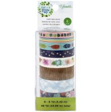 Shimelle Washi Tape 8/Pkg - Never Grow Up