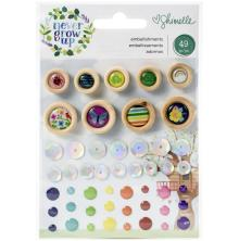 Shimelle Mini Embellishments - Never Grow Up