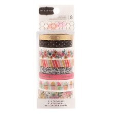 Jen Hadfield Washi Tape 8/Pkg - Hey, Hello