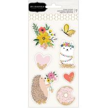 Jen Hadfield Shaker Stickers 7/Pkg - Hey, Hello