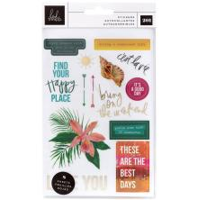 Heidi Swapp Small Sticker Pack 201/Pkg - Art Walk