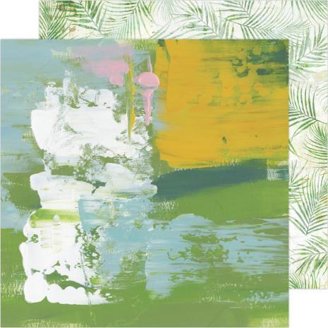 Heidi Swapp Art Walk Cardstock 12X12 - Locals Only