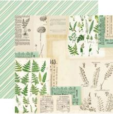 Simple Stories Simple Vintage Great Escape Cardstock 12X12 - Loose Yourself
