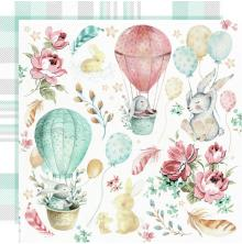 Kaisercraft Little Treasures Double-Sided Cardstock 12X12 - Cuddles