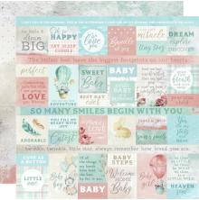 Kaisercraft Little Treasures Double-Sided Cardstock 12X12 - Mothers Love