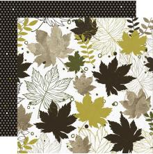Kaisercraft Fallen Leaves Double-Sided Cardstock 12X12 - Crunchy Leaves