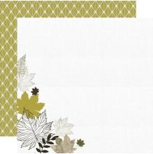 Kaisercraft Fallen Leaves Double-Sided Cardstock 12X12 - Warm Breeze