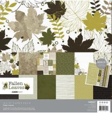 Kaisercraft Paper Pack 12X12 12/Pkg - Fallen Leaves