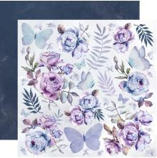 Kaisercraft Amethyst Double-Sided Cardstock 12X12 - Full Moon
