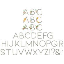Sizzix Thinlits Dies - Decorative Type 20-07