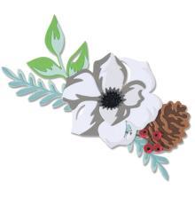 Sizzix Thinlits Dies - Layered Winter Flower 20-07