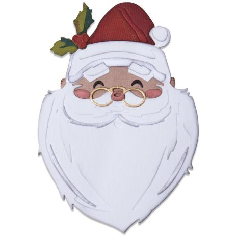 Tim Holtz Sizzix Thinlits Dies - Santas Wish Colorize 20-07
