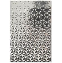 Sizzix 3-D Textured Impressions Embossing Folder - Star Fall 20-07