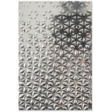 Sizzix 3-D Textured Impressions Embossing Folder - Star Fall 20-07