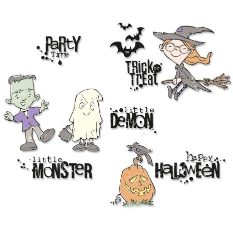 Sizzix Clear Stamps - Fright Night!