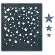 Tim Holtz Sizzix Thinlits Dies - Falling Stars 20-07