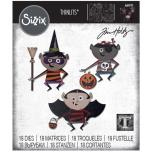 Tim Holtz Sizzix Thinlits Dies - Trick Or Treater 20-07
