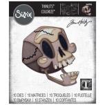 Tim Holtz Sizzix Thinlits Dies - Skelly Colorize 20-07