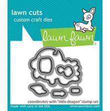 Lawn Fawn Dies - Little Dragon