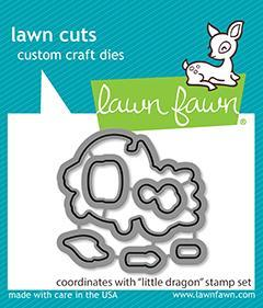 Lawn Fawn Dies - Little Dragon
