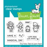 Lawn Fawn Clear Stamps 3X2 - Tiny Fairy Tale