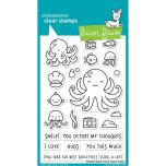 Lawn Fawn Clear Stamps 4X6 - Ocean Shell-Fie