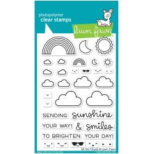 Lawn Fawn Clear Stamps 4X6 - All The Clouds