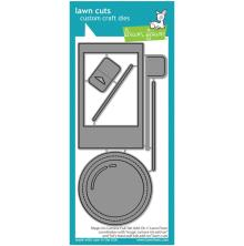 Lawn Fawn Sdies - Magic Iris Camera Pull-Tab Add-On